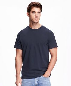 Soft-Washed Crew-Neck Tee for Men Chicago Cubs Shirts, Navy Mom, Shop Old Navy, Mens Tees, Crew Neck, Short Sleeves, T Shirt, Women, Ben Bowers