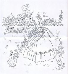 Aunt Martha's Iron On Transfer Patterns for Stitching, Embroidery or Fabric Painting, Patterns for Tea Towels/Kitchen Decor, Set of 5 - Embroidery Design Guide Hungarian Embroidery, Folk Embroidery, Embroidery Transfers, Silk Ribbon Embroidery, Hand Embroidery Patterns, Vintage Embroidery, Embroidery Stitches, Machine Embroidery, Lazy Daisy Stitch