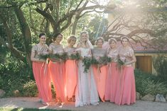 Perfect in peach - DNA wedding photography Bridesmaid Dresses, Wedding Dresses, Dna, Peach, Wedding Photography, Table Decorations, Weddings, Fashion, Bridesmade Dresses
