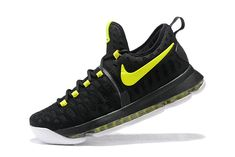 low priced aa72e e7bda Kevin Durant KD IX 9 Flyknit Black Flash Lime Volt 2018 Really Cheap