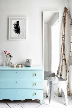 The beautiful home of a Swedish designer / illustrator