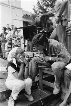 Romy Schneider and Alain Delon