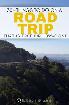 30  Things to Do on a Road Trip that is FREE or Low-Cost Road Trip Checklist, Road Trip Packing, Road Trip Hacks, Road Trip With Kids, Family Road Trips, Family Travel, Travel Usa, Travel Tips, Travel Hacks