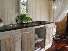 Gartenküchenidee