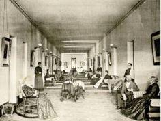 Female Ward in Athens, Ohio, Lunatic Asylum circa 1893 Abandoned Ohio, Abandoned Asylums, Abandoned Hospital, Abandoned Places, Mental Asylum, Insane Asylum, Prison, Athens Ohio, Old Hospital