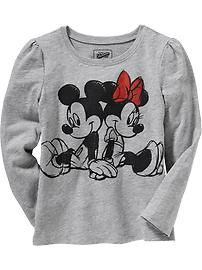 Disney© Mickey and Minnie Mouse Tees for Baby