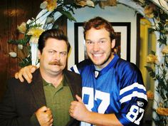 Parks and Recreation April and Andy wedding (Chris Pratt and Nick Offerman)