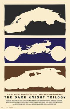 The Dark Knight Trilogy poster by billpyle.deviantart.com on @deviantART