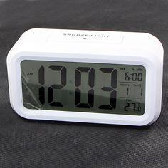 101PC Smart Light LCD Digital Alarm Clock Digital Alarm Clock, Led, Lights, Lighting, Rope Lighting, Candles, Lanterns, Lamps, String Lights