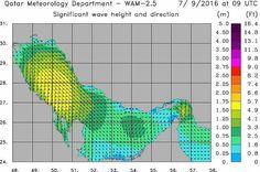 #شبكة_أجواء : يستمر التحذير البحري برياح قوية السرعة-/ عقدة وأمواج عالية -/  قدم في المناطق الشمالية حتى مساء اليوم . .  @qatarweather  #شبكة_الياسات  @alyasatnet  #رابطة_أجواء_الخليج  @g.s.chasers