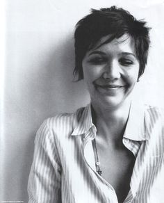 Maggie Gyllenhaal's hair! (at some point)