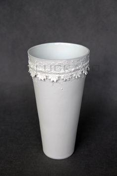 Lace Vase, Planter Pots, Pure Products, Elegant, Home Decor, Classy, Chic, Decoration Home, Room Decor