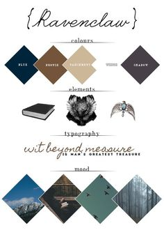 hp mood boards ◊ ravenclaw