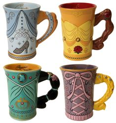 Show Off Your Morning 'Disney Side' with New Mugs Coming to Disney Parks-- I WANT ALL OF THEM!!