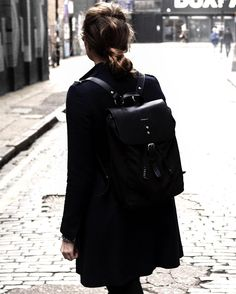 Like, how amazing is this Sandqvist backpack. I need one in my life asap 🖤🖤🖤