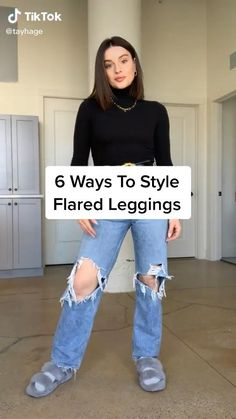 Retro Outfits, Cute Casual Outfits, Fall Outfits, Leggings Outfit Winter, Mode Ootd, Athleisure Outfits, Fashion Hacks, Fashion Outfits, Aesthetic Clothes