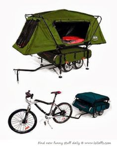 Bike Tent...need to find one for when I go on my European cross country biking trip