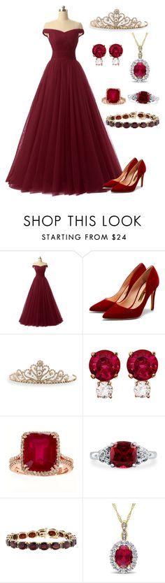 """Princess of elegance"" by sajgon123 ❤ liked on Polyvore featuring Rupert Sanderson, BillyTheTree, Jemma Wynne and BERRICLE"