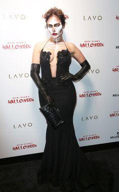 JENNIFER LOPEZ Live it up, J.Lo. The American Idol judge doesn't disappoint at Heidi Klum's annual party. #celebrity #jenniferlopez #halloween
