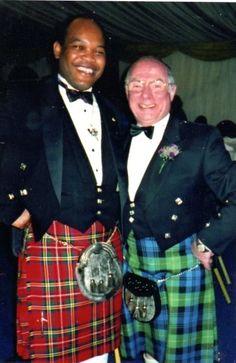 Donald Sweeting and FSB Chairman - Avimore Scotland