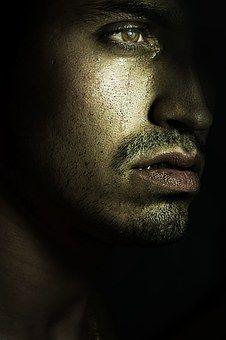 Man, Tears, Tear, Look, Sad, Person