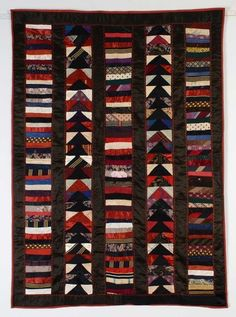 Chinese Coins and Wild Goose Chase Crib Quilt:1926
