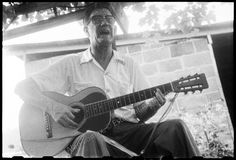 The Association for Cultural Equity Research Center has made available online its massive collection of folklorist Alan Lomax's material. Lomax spent his career documenting folk music traditions from around the world. The archive includes more than 17,400 digital audio files, beginning with his first recordings onto (newly invented) tape in 1946 and tracing his career into the 1990s. It also includes photographs, interviews, and lectures. Hobart Smith, Bluefield, Virginia, 1959.