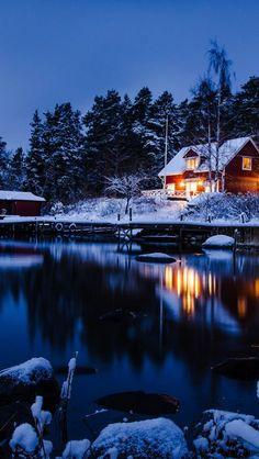 Winter settles over Stockholm, Sweden.  ASPEN CREEK TRAVEL - karen@aspencreektravel.com