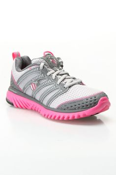 eeea0b987c8c My favorite new Nike shoes. See more. K-Swiss Blade-Light Run Sneakers In  Charcoal And Neon Pink - Beyond the