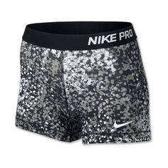 Women's Nike 3 Inch Pro Core Compression Printed Shorts ($32) ❤ liked on Polyvore featuring activewear, activewear shorts, nike, shorts, bottoms, shorts/skirt, nike sportswear, nike activewear and compression sportswear