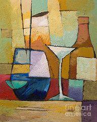 Cubism Art - Still Life  by Lutz Baar