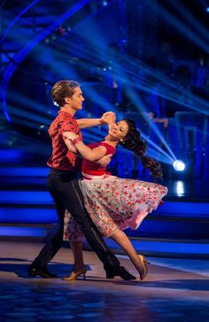 SCD week 2, 2016. Claudia Fragapane A J Pritchard. Waltz. Credit: BBC / Guy Levy