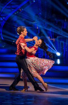 SCD week 2, 2016. Claudia Fragapane A J Pritchard. Waltz. Credit: BBC / Guy Levy