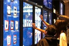 Get the best retail digital signage solution from IntuiLab. Visit http://www.intuilab.com/retail-digital-signage-solution for highly interactive in-store digital sales experience!