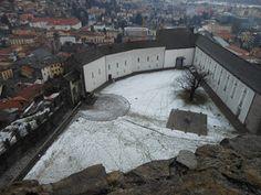Castelgrande Bellinzona, Switzerland. 1981-2000 Architect: Aurelio Galfetti