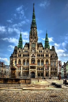 The City Hall, Liberec, Czechia