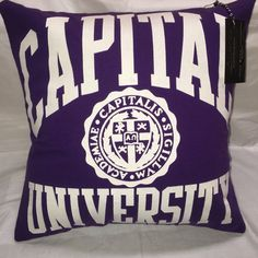 A personal favorite from my Etsy shop https://www.etsy.com/listing/455872896/bexley-ohio-university-tshirt-pillow