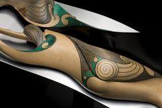 The Creation Myth (The story of Ranginui and Papatuanuku) by Rex Homan, Māori artist (KR71201)