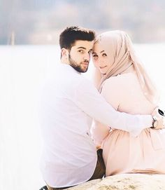 How To Look Your Best On Your Wedding Day. On your big day, all eyes will be on you so you definitely want to look your best. Wedding Couple Photos, Wedding Poses, Couple Pictures, Wedding Couples, Married Couples, Wedding Pictures, Wedding Dresses, Wedding Ideas, Cute Muslim Couples