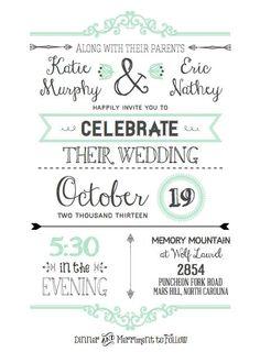 free printable wedding invitation template wedding pinterest