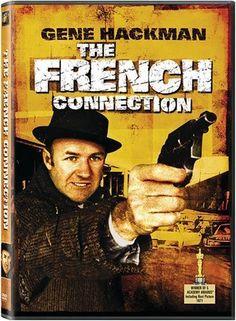 (1971) ~ Gene Hackman, Roy Scheider, Fernando Rey. Director: William Friedkin. IMDB: 7.8 ___________________________ http://en.wikipedia.org/wiki/The_French_Connection_(film) ___________________________ http://www.rottentomatoes.com/m/french_connection/ ___________________________ http://www.metacritic.com/movie/the-french-connection ___________________________ http://www.tcm.com/tcmdb/title/75646/The-French-Connection/ ___________________________