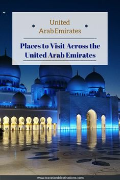 An article on places that you should visit across the United Arab Emirates (UAE) in the middle East. Including Dubai, Abu Dhabi and more.    #unitedarabemirates #uae #travel #middleeast #destination #Sharjah #dubai #AbuDhabi