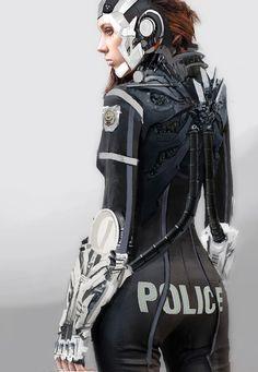 Police Officer by zeon - Ignat Komitov - CGHUB