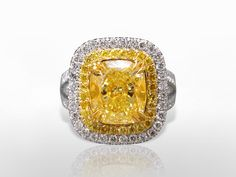 June 2016 #Auction Results: #FancyYellow #Diamond #Ring Sold for $101,000.  Subscribe to Win Prizes at www.federalauction.ca/subscribe #jewellery #jewelry #diamonds #rolex #giacertified #gold #luxury #federalauctionservice #fascanada #victoria #vancouver #calgary #edmonton #toronto