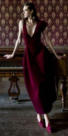 & Quaint & Charmingly Odd ♔ {so quaint} & Poppy Pea Armani Burgundy And Gold, Burgundy Wine, Burgundy Color, Magenta, Lilac, Purple, Color Borgoña, Gala Dresses, Equestrian Style