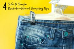 4 Safe and Simple Tips When Shopping for Back-to-School Clothing Starting Kindergarten, Back To School Shopping, Shopping Hacks, School Outfits, School Clothing, Saving Ideas, Simple, Saving Money, Tips