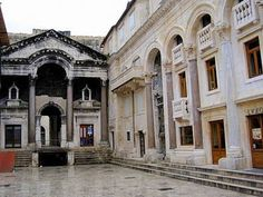 Peristyle - Diocletian's Palace Split