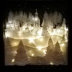 Blue rose paper treasures christmas lighted shadow box 8 x 8 – Artofit Christmas Shadow Boxes, Christmas Window Display, Christmas Window Decorations, Homemade Christmas Cards, Christmas Fashion, Christmas Paper, Christmas Items, Christmas Snowman, Christmas Projects