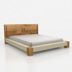 nela-bed Comfy Bedroom, Guest Bedroom Decor, Bedroom Bed Design, Bedroom Furniture, Furniture Design, Bed Frame Plans, Double Bed Designs, Cama King, Low Loft Beds