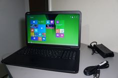 "Dell Inspiron 17 (3721) 17.3"" Laptop Computer Intel Pentium 2117U 4GB 500GB W8.1"